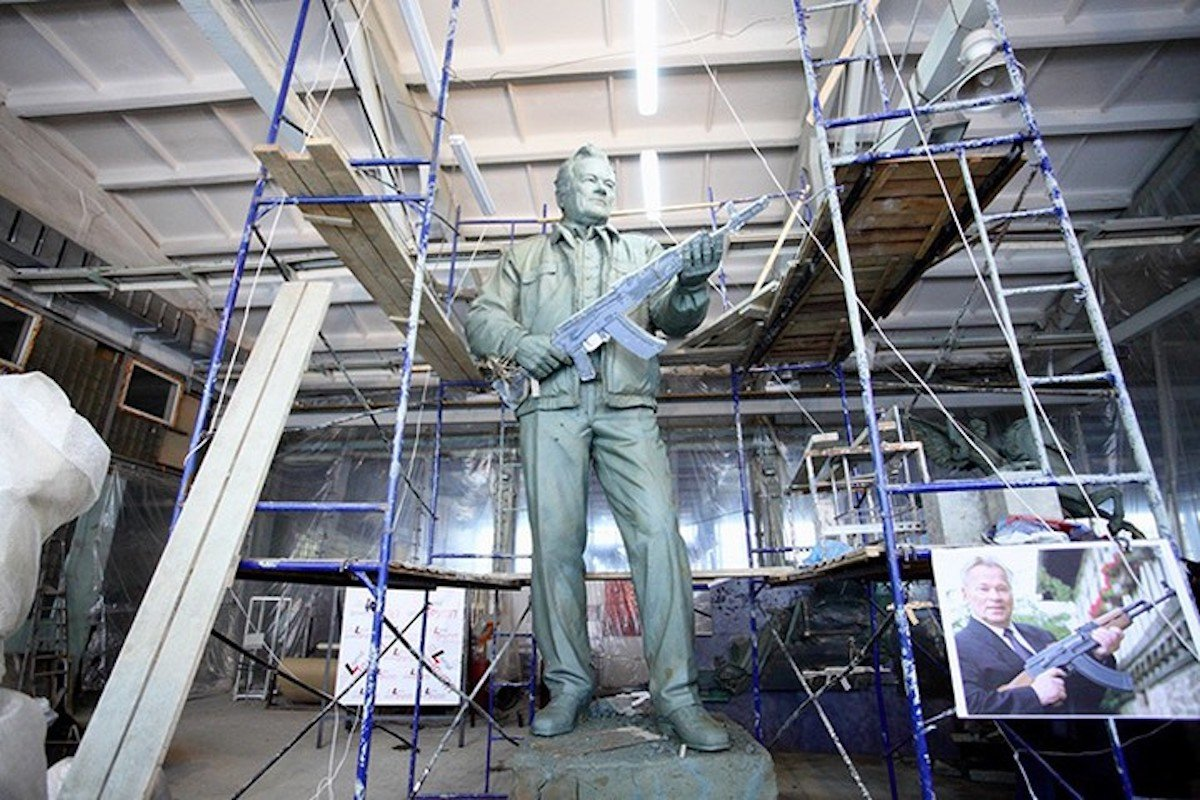 Moscow monument to Kalashnikov to be unveiled next week