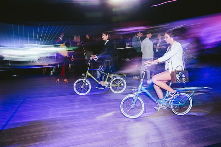 Rog Pony bikes (Image: Jani Ugrin and Nejc Pernek/ Mercedes-Benz Fashion Week Ljubljana / Facebook)