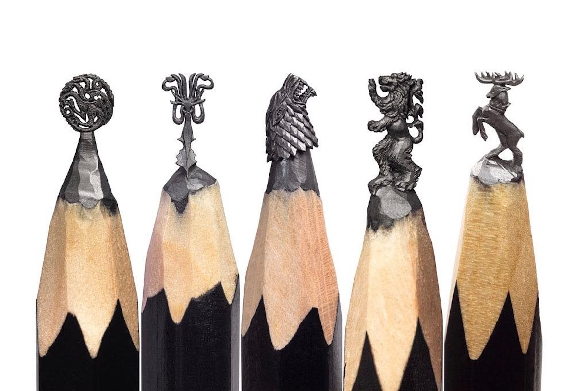 Follow of the week: Game of Thrones on the tip of a pencil