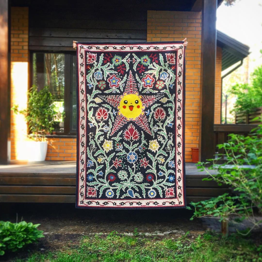 Follow of the week: handmade rugs from Ukraine
