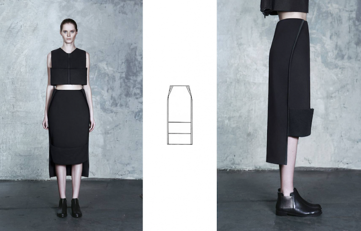 Ukrainian conceptual wear brand DZHUS releases new lookbook