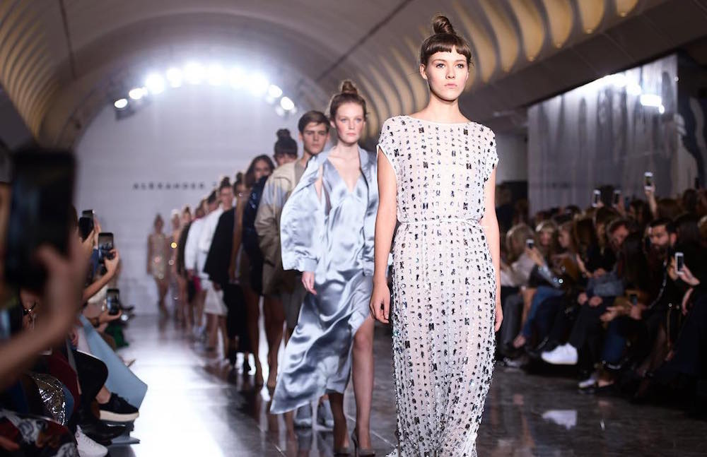 Moscow metro hosts fashion show by Alexander Terekhov