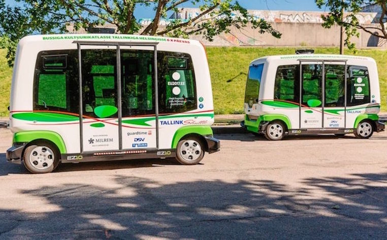 Estonia's driverless buses are back on the road in Tallinn