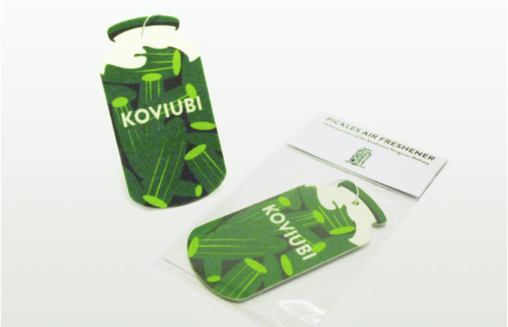 Capture the 'essence of Hungary' with these pickle-scented air fresheners