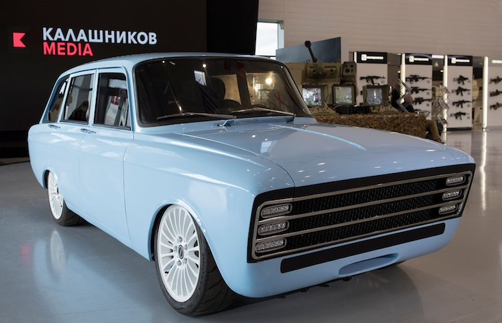Kalashnikov wants to take on Tesla with a Soviet-style electric 'super car'