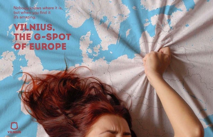 This hilarious new ad campaign is selling Vilnius as the G-spot of Europe