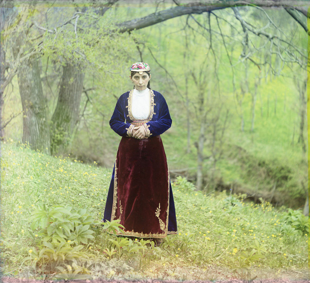 Image: Armenian woman in national costume, circa 1905–1915