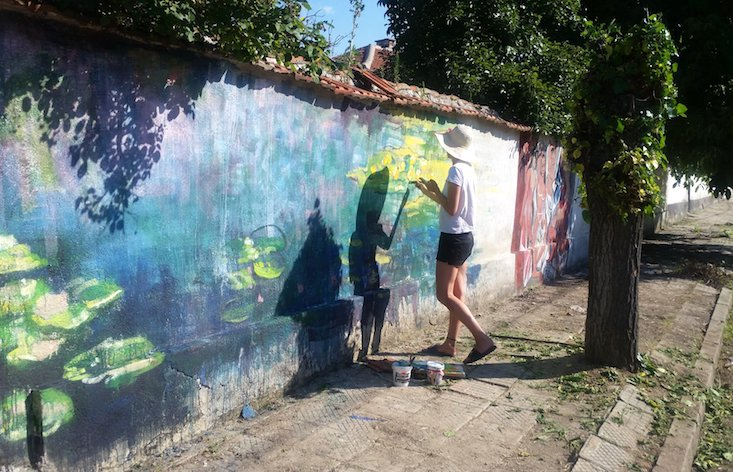 These street artists are turning a Bulgarian village into an open air gallery