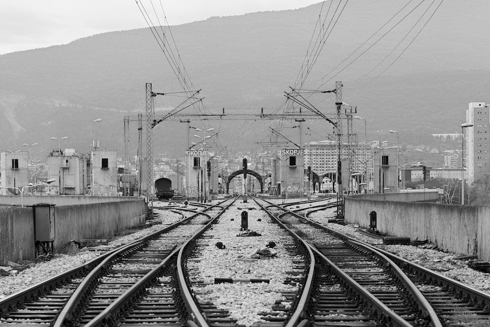 Transportation Center Skopje (Railway Station) by Kenzo Tange. Image: © Vase Amanito for Blue Crow Media
