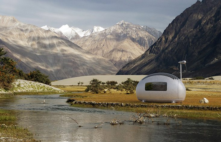 Go off-grid with these futuristic eco-cabins from Slovakia