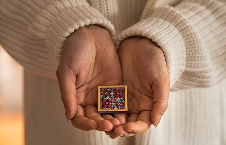 Kitna: the hipster jewellery line reviving Bulgaria's folk embroidery