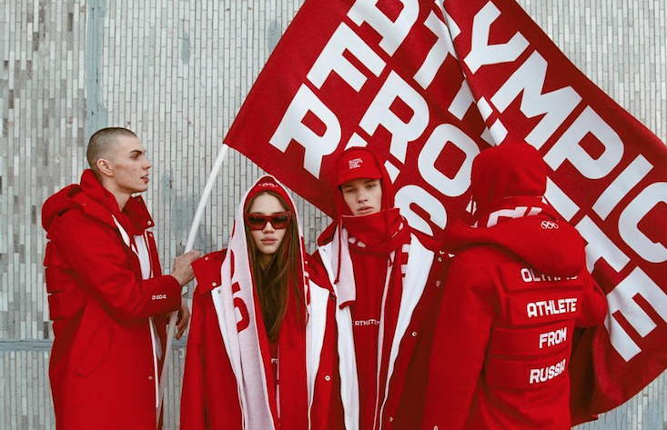 Outlaw Moscow x DADA launch streetwear alternative to Russia's Winter Olympic kit