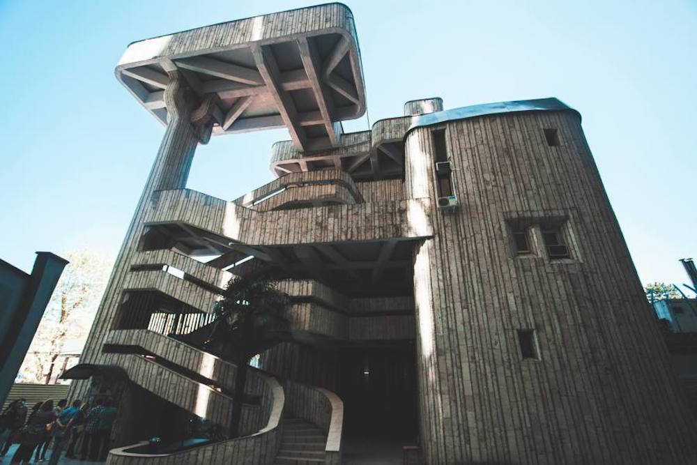 A cable car station in Sochi, Russia. Image: Peter Methven under a CC licence.