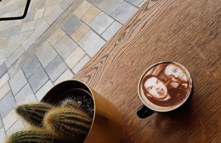 Selfiecchinos in Slovakia: Bratislava cafe prints customers' faces on their coffees