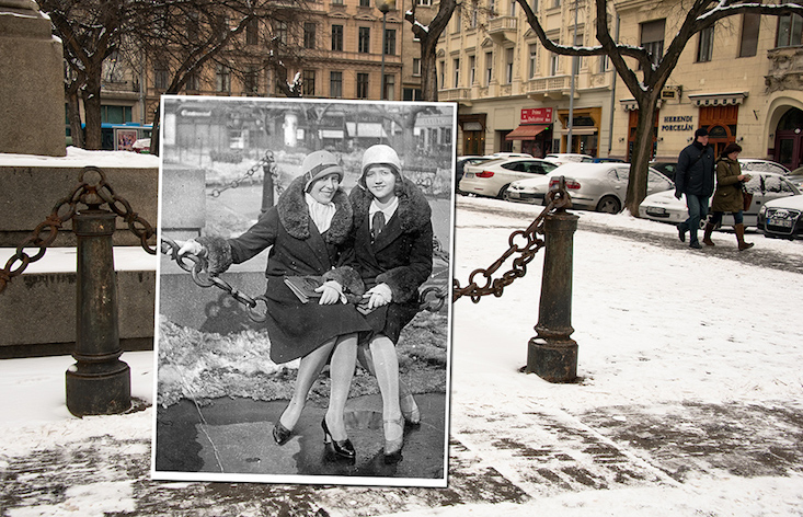 Discover the archive photo project blending past and present in Budapest