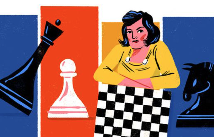 New Google doodle honours Soviet chess champion and war hero Lyudmila Rudenko
