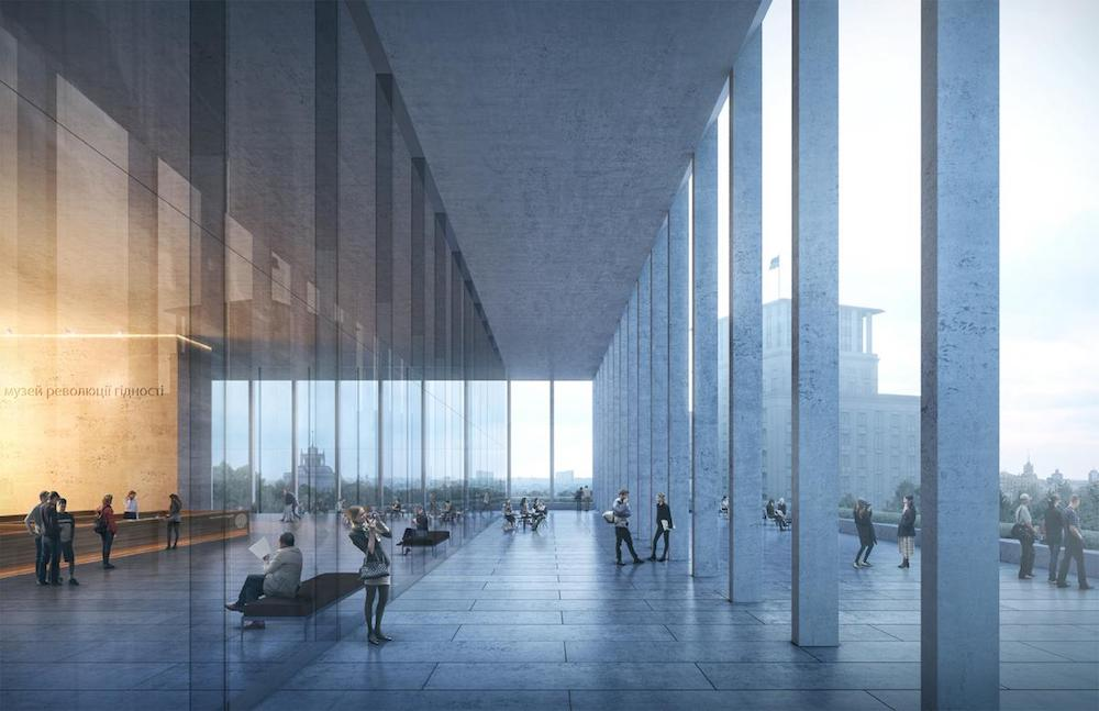 Designs for the new museum. Image: Kleihues + Kleihues