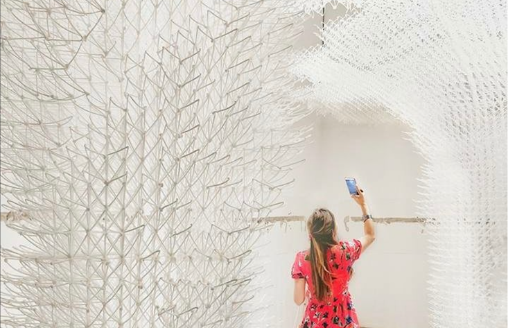Croatia unveils a dreamy pavilion of 3D-printed clouds at the Venice Biennale