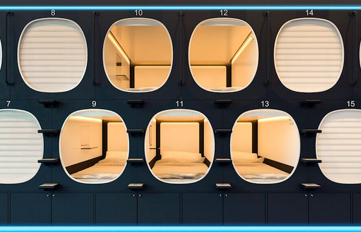 Europe's largest capsule hotel has opened in Moscow