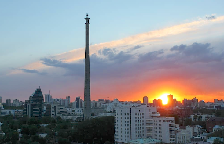Watch as Yekaterinburg's iconic TV Tower is finally demolished
