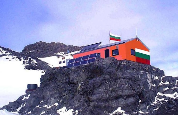 Bulgaria erects monument to the Cyrillic alphabet in Antarctica