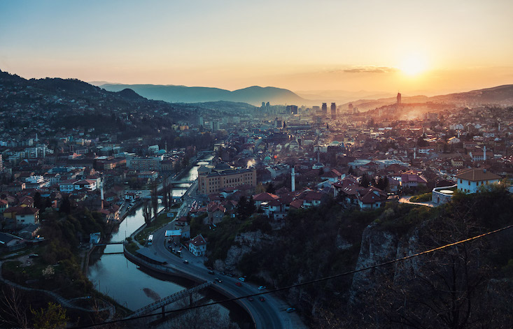 Sarajevo's communist-era cable cars are taking to the sky once more