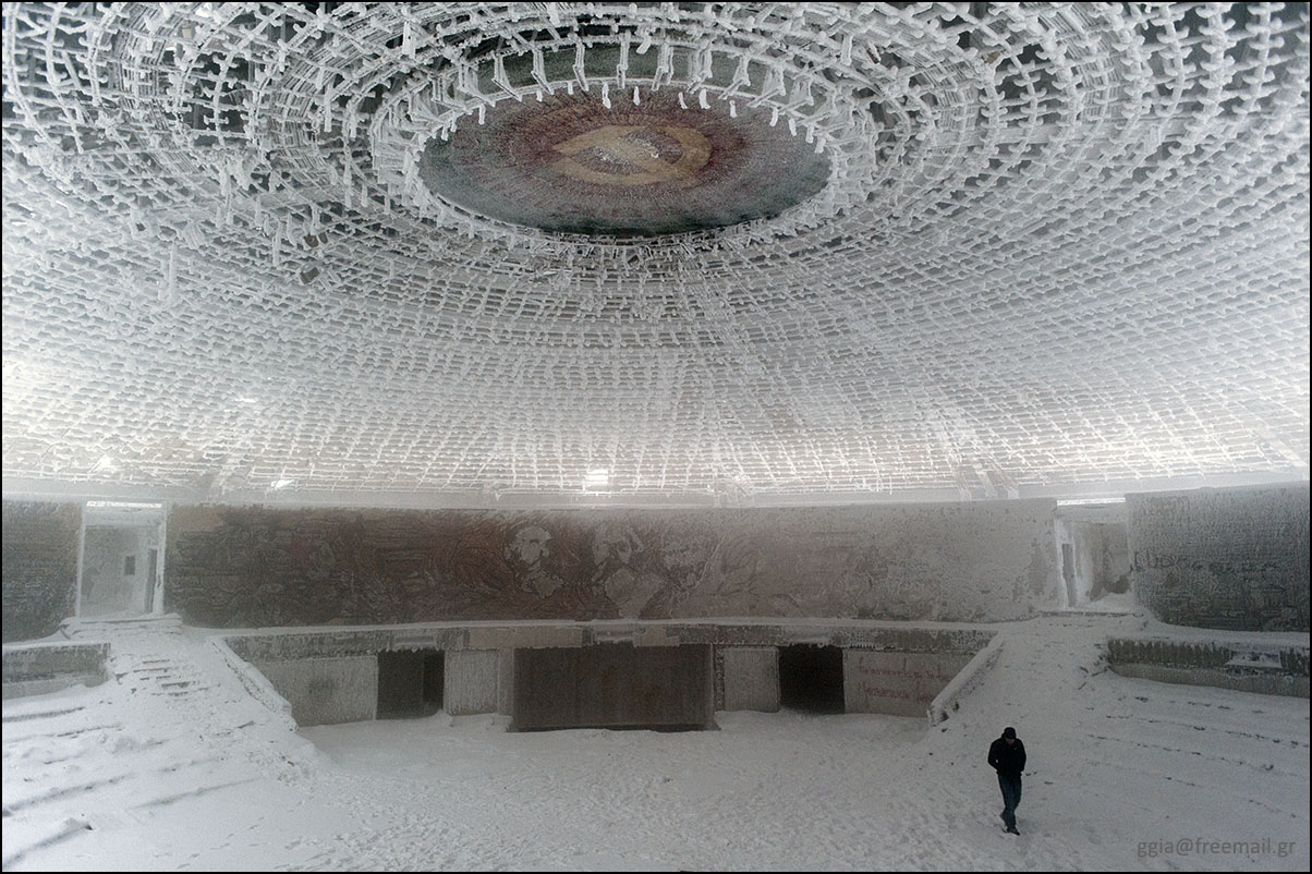 Bulgaria's Buzludzha monument opens its doors for the first time in 8 years