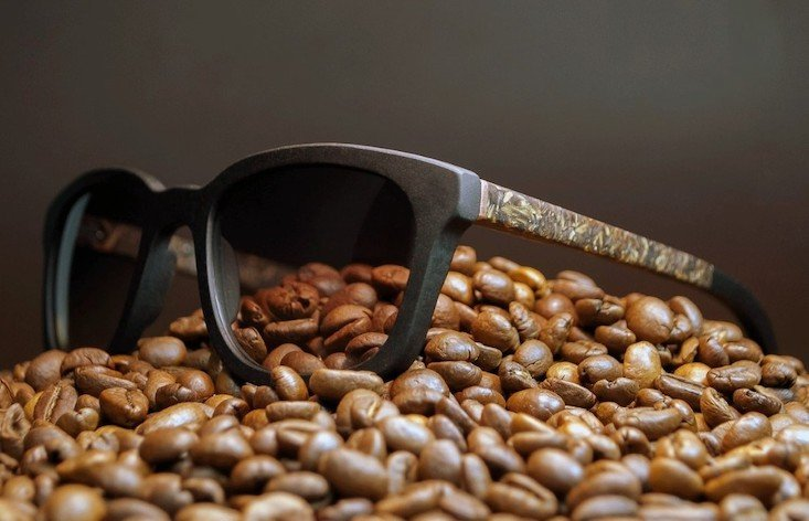 Here's why your next pair of glasses could be made from recycled coffee
