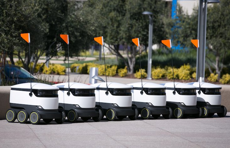 Estonian robots have landed in the UK (and they're coming to your house)