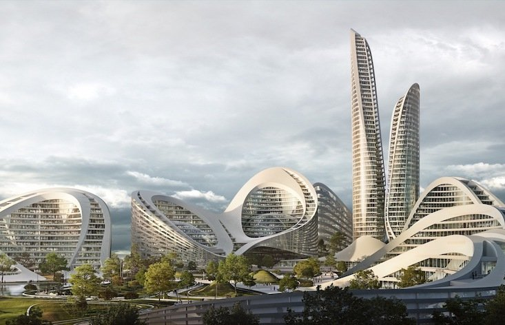 Zaha Hadid Architects are building the city of the future outside of Moscow