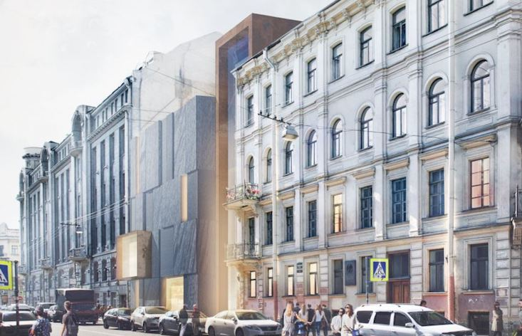 St Petersburg halts controversial modern wing for historic Dostoevsky Museum