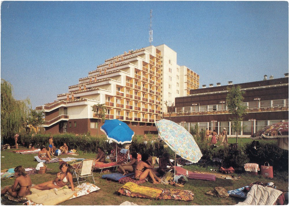 Recreation home of the Ministry of the Interior, 1970s. Budapest, Hungarian PR