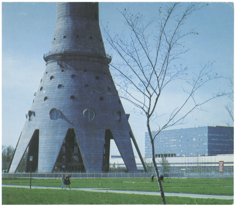 Ostankino Tower, 1967. Moscow, USSR