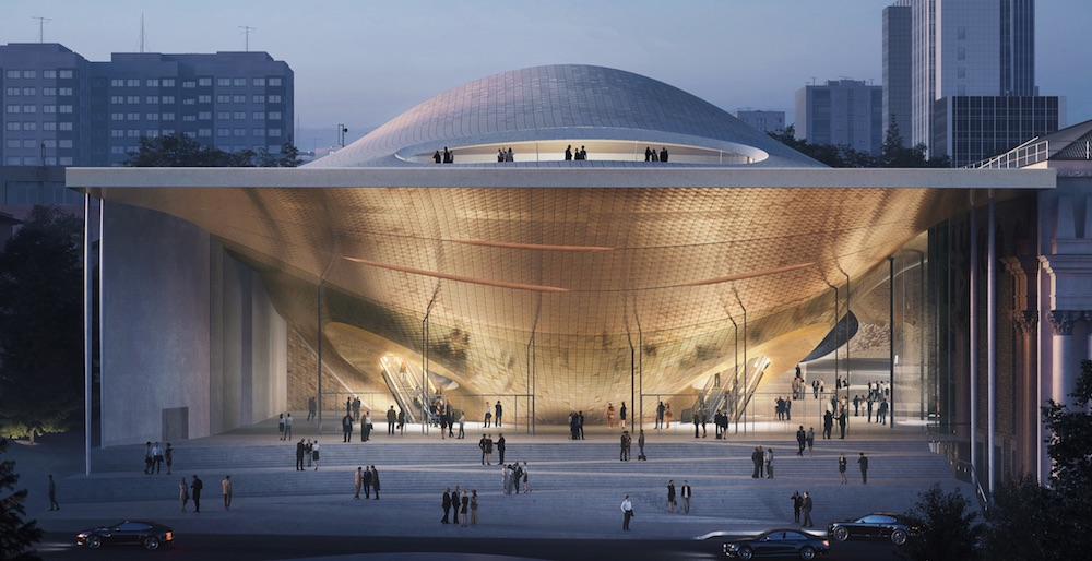 Zaha Hadid Architects unveil space-age concert hall for Yekaterinburg