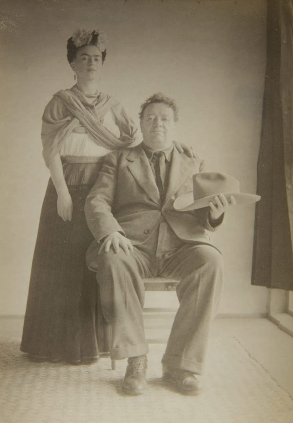 Nickolas Muray, Frida Kahlo and Diego Rivera (1940)