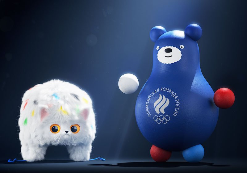 Check out the cuddly new mascots from Russia's Olympic Committee