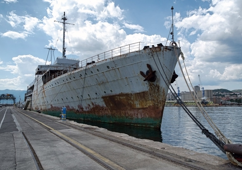 Tito's old yacht is being turned into a floating museum