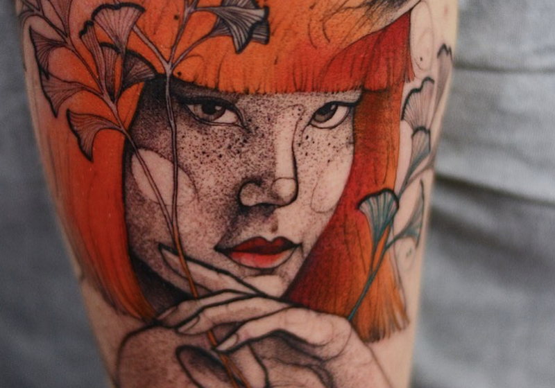 Enter the whimsical, neon-hued world of Polish tattoo artist Dżo Lama