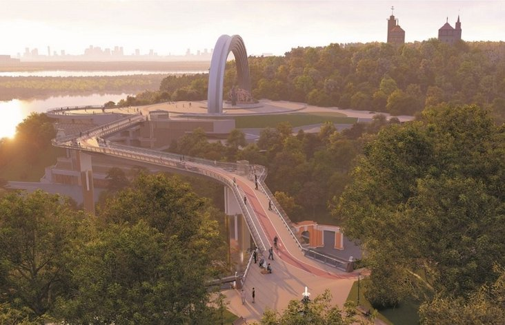 Kiev is unveiling its own stunning New York-style High Line