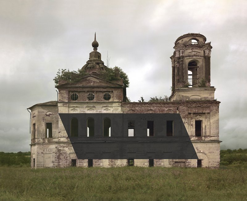 Watch modernist art and rural churches collide in the latest work from Danila Tkachenko