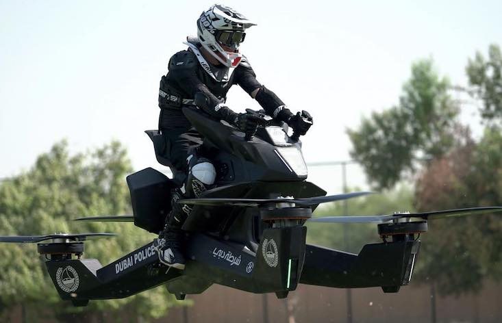 Your chance to buy a flying motorbike is finally here