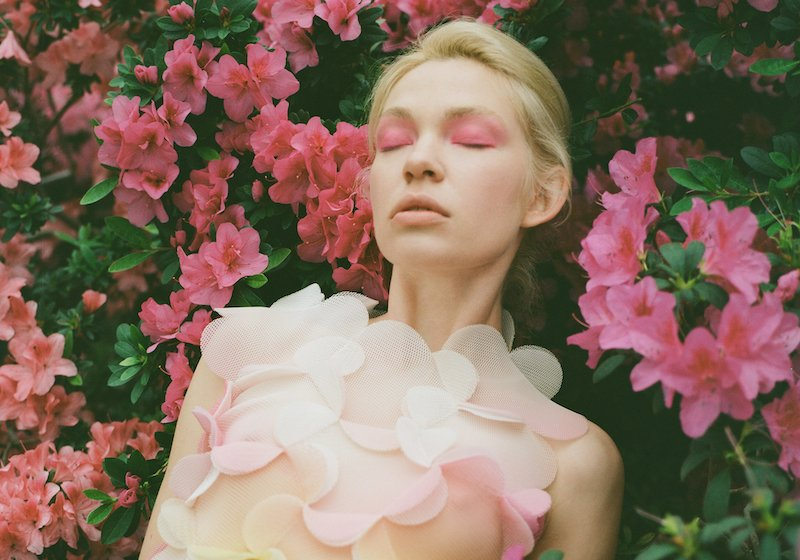 Watch the natural and digital worlds collide in this fashion shoot set in Kyiv's suburbs