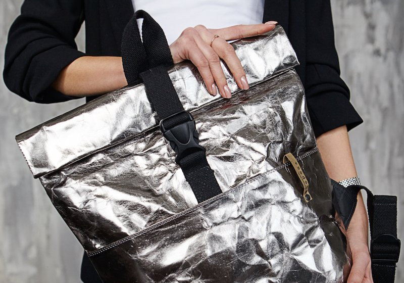 This Minsk designer proves paper bags are the future of fashion