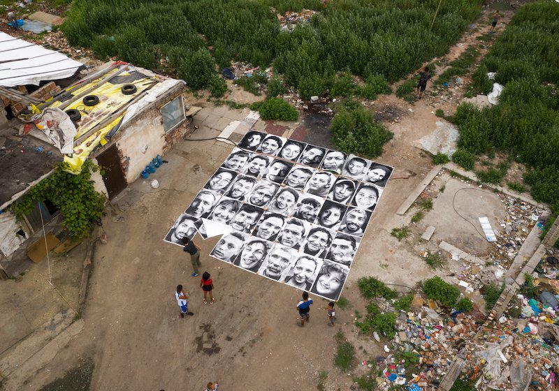 This art project is helping evicted Roma families reclaim their ruined homes