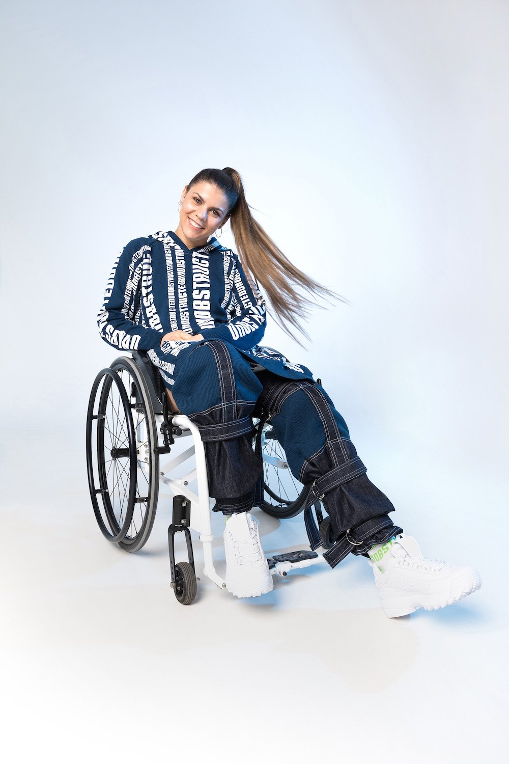 Amarila Veres, pro-wheelchair fencer and Paralympian
