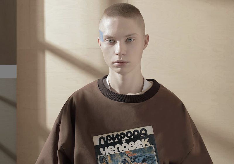 Streetwear meets Soviet sanatoriums in the latest collection from Kruzhok