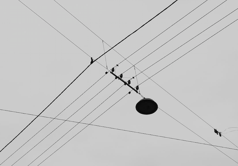 Watch as Moscow's sprawling tramlines are reimagined as abstract art