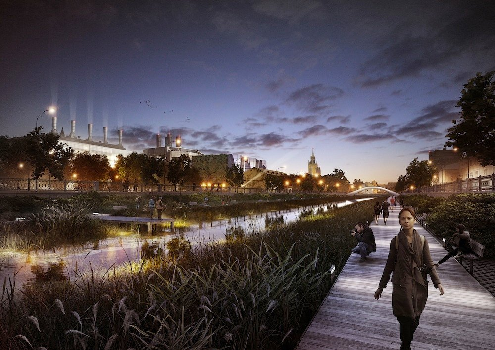 Massive Moscow riverfront regeneration project gets go-ahead