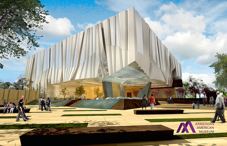 Design revealed for Armenian American Museum