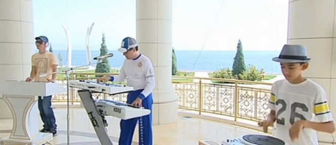 Enjoy this holiday hit from Turkmenistan's president